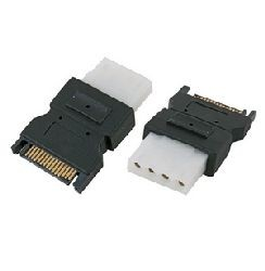 Serial ATA (S-ATA) Strom-Adapter SATA auf IDE