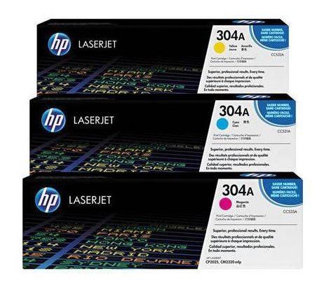HP Toner-Multipack CF372AM (CC531A + CC532A + CC533A)
