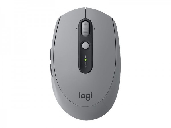 Logitech Maus M590 Multi-Device Silent Mid Grey