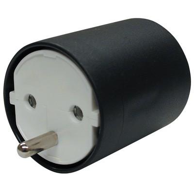 Fix-Adapter Schuko - CH 3polig (T12), weiss