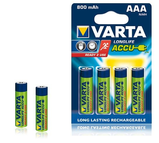 VARTA NiMH Akkus AAA - 4er Pack