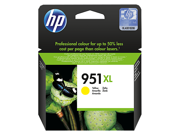 HP Patrone No. 951 XL gelb (CN048AE)
