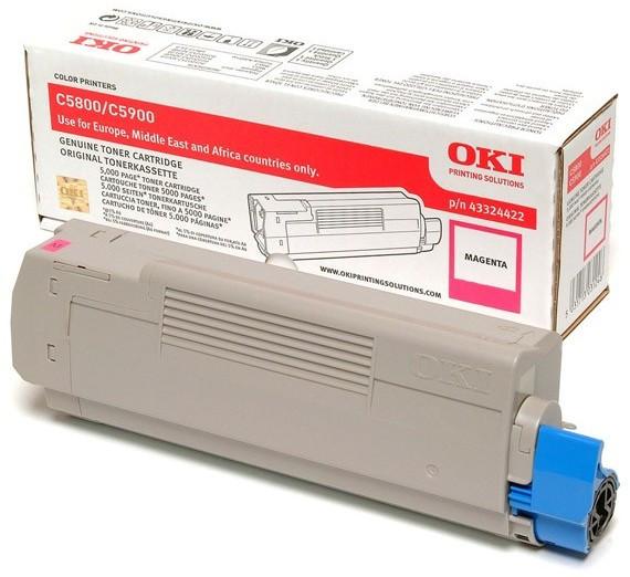 OKI Toner magenta für OKI C5900