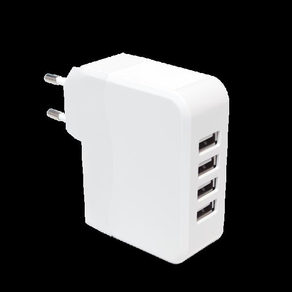 USB Lade-Adapter für 4 USB-Geräte, Logilink