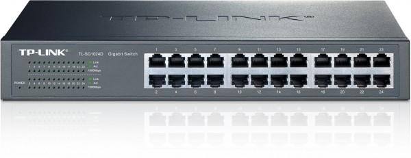 Netzwerk-Switch 24 Port 10/100/1000 (Gigabit), TP-Link TL-SG1024D