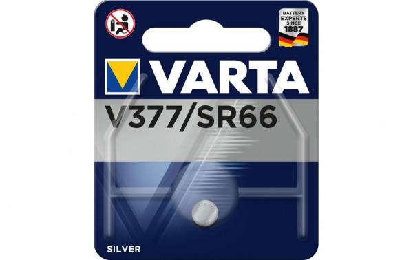 VARTA Knopfzelle, V377 / SR66