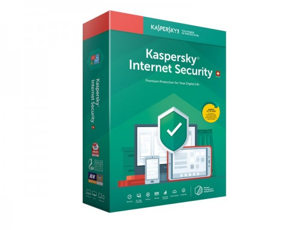Kaspersky Internet Security, Lizenz für 5 PCs (Update)