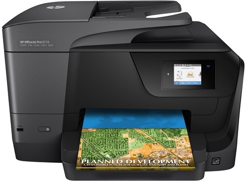 HP Officejet Pro 8710 (4-in-1, WLAN, LAN)