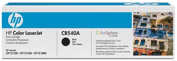 HP Tonermodul CB540A schwarz für CP1215 / CP1515N / CP1518Ni
