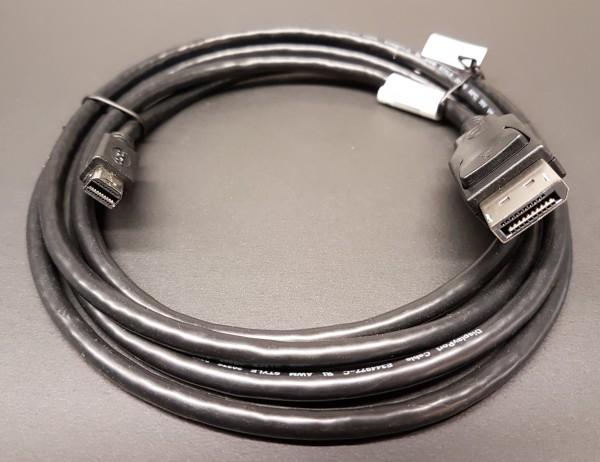 Monitorkabel Mini Displayport - Displayport (Stecker-Stecker), 1.8 m