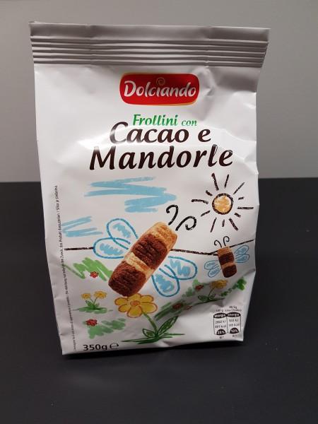Dolciando Frollini Cacao e Mandorle, 350 g