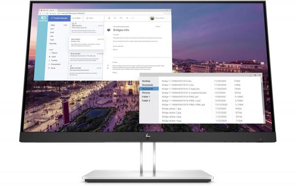 """23"""" Display HP E23 G4 mit Full HD und USB-Hub"""