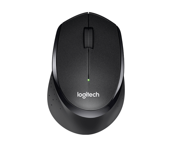 Logitech Wireless Mouse M330 Silent Plus, schwarz