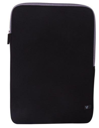 "Notebook-Hülle, V7 CSS4-GRY-2E, schwarz, für Ultrabooks 13.3"""