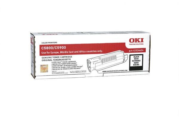 OKI Toner schwarz für OKI C5900