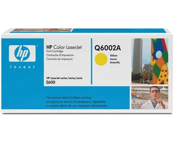 HP Tonermodul Q6002A gelb