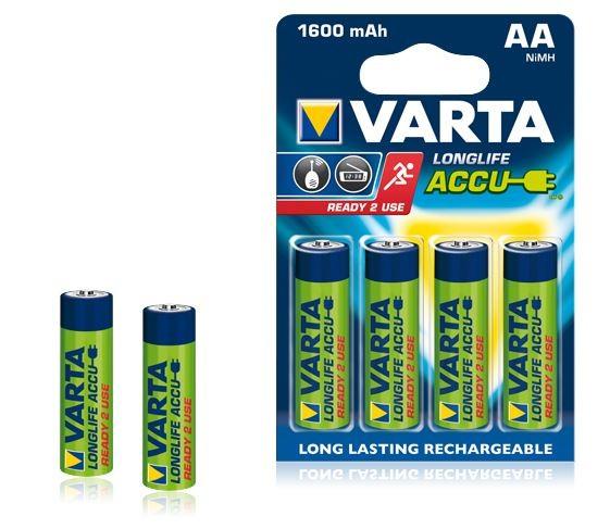 VARTA NiMH Akkus AA - 4er Pack