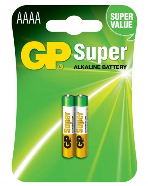 GP Batteries Alkaline Batterien AAAA - 2er Pack