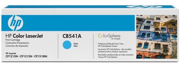 HP Tonermodul CB541A cyan für CP1215 / CP1515N / CP1518Ni